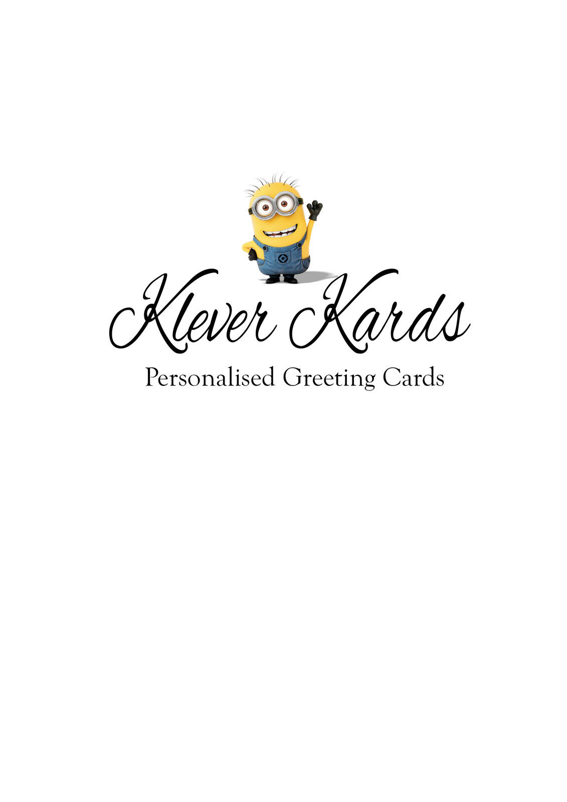 Klever Kards Personalised Cards