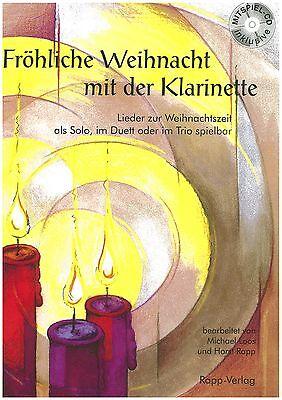 Horst Rapp - Fröhliche Weihnacht mit der Klarinette inkl. CD