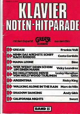 Klavier Noten-Hitparade. Bd.15.