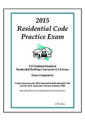 2015 International Residential Code Practice Exam on USB Flash Drive