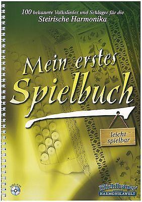 Michlbauer - Mein erstes Spielbuch +CD - leicht - Noten - Steirische Harmonika