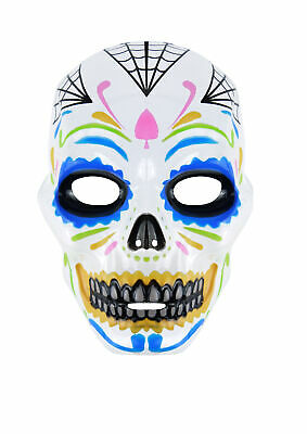 Adult Halloween Mexican Day of the Dead Mask - Adult Day Of The Dead Skull Maske
