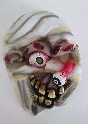 Scary Halloween Silicone mask with elastic strap (Scary Halloween Silicone Masks)