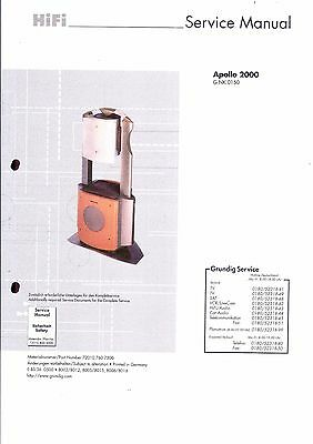 Grundig Service Manual für Apollo 2000