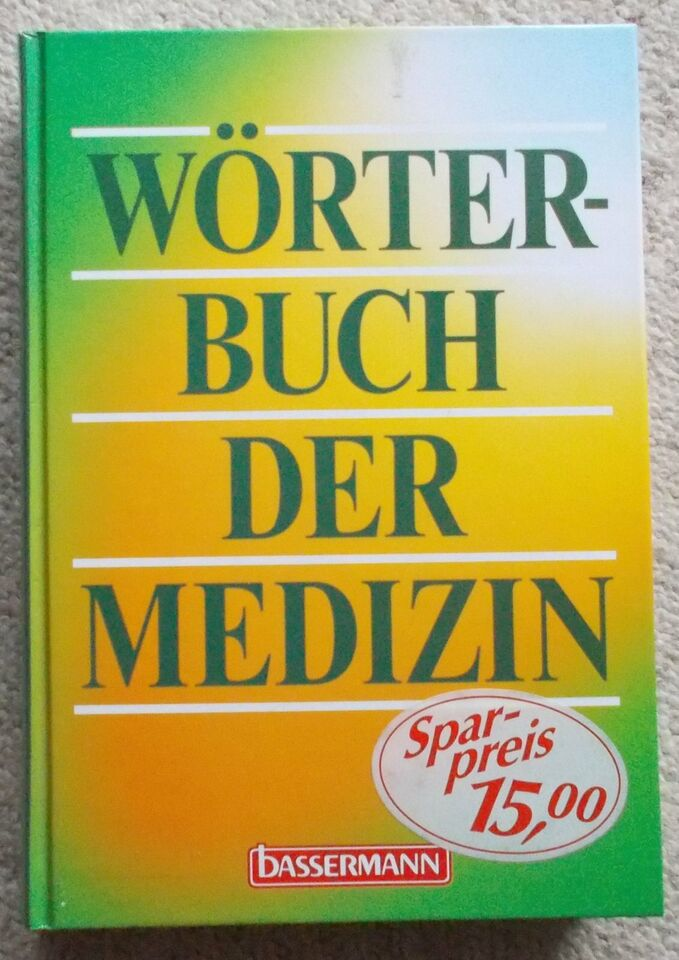 Wörterbuch der Medizin in Eberswalde