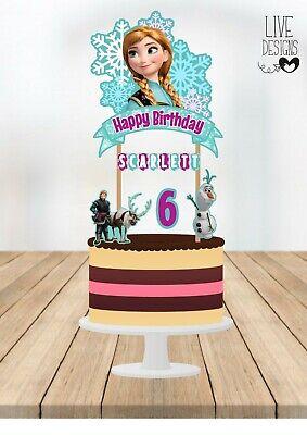 Frozen Cake Supplies (Frozen Cake Topper, Frozen Birthday Topper, Frozen Party, Frozen Party)