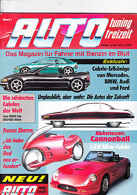 Auto Tuning magazine - First Issue - German - 1989 - fascinating for sale  Shipping to Nigeria