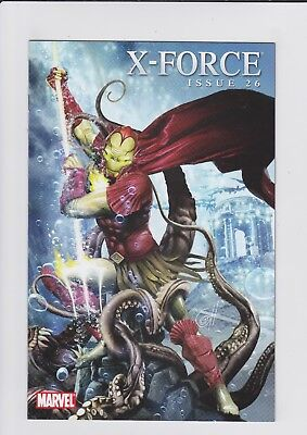 X-Force #26 Iron Man by Design Underwater Variant Cover Marvel Comics 2010