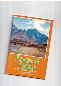 A J L Lambiris Frogs & Toads of the Natal Drakensberg 1988 Ukhlamba Series No 3 - internet, Polska - A J L Lambiris Frogs & Toads of the Natal Drakensberg 1988 Ukhlamba Series No 3 - internet, Polska