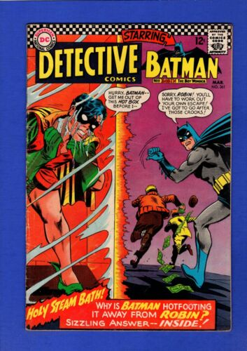 DETECTIVE COMICS #361 BATMAN FN/VF HIGHER GRADE SILVER AGE DC KEY