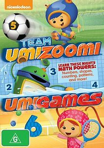 TEAM UMIZOOMI : UMIGAMES  -  DVD - Region 2 UK Compatible -  sealed