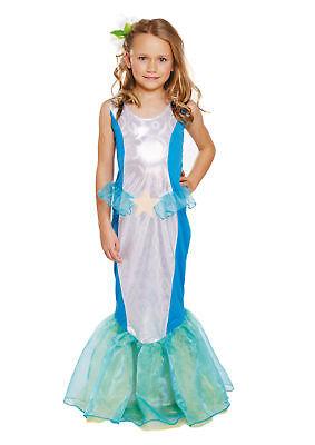 Kinder Meerjungfrau Kostüm - 7-9 Jahre - Kleine Prinzessin Welt Buch ()