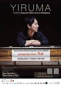 Kiss the Rain YIRUMA CONCERT TICKETS in Brisbane South Brisbane Brisbane South West Preview