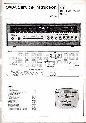 Tv, Video & Audio Service Manual-anleitung Für Nordmende Discocorder Rk 4186 981.115 H