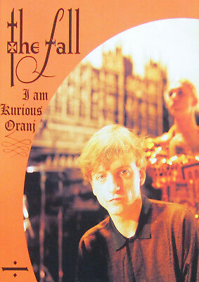 Reproduction The Fall Poster, Mark E Smith, I Am Kurios Oranj, Indie
