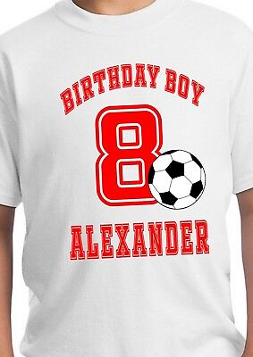 Soccer Shirt / Soccer Birthday / Soccer Party Supplies / Soccer Theme Party