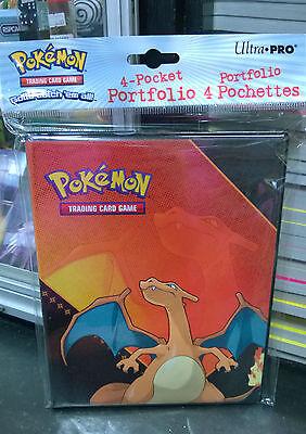 Pokemon Charizard 4 Pocket Page Portfolio Album Binder Holder Card Protector New