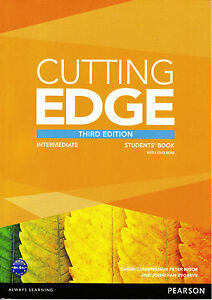 CUTTING EDGE Intermediate THIRD EDITION 2013 Students Book with DVD-ROM @NEW@