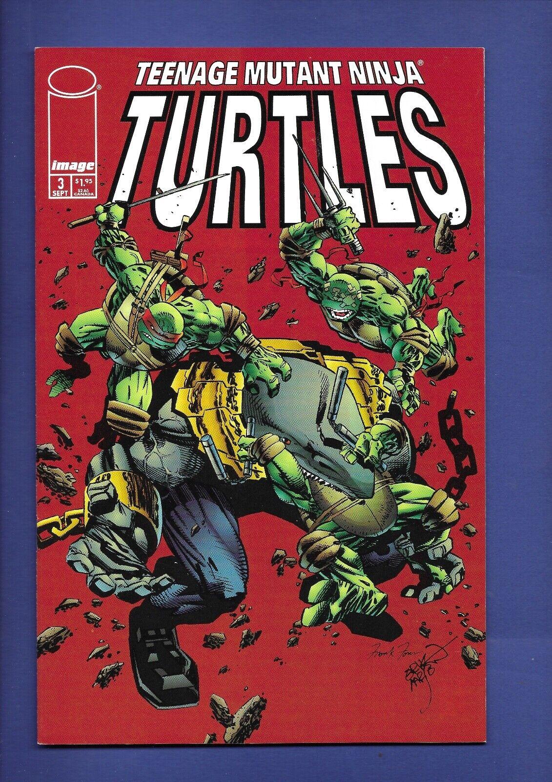 Teenage Mutant Ninja Turtles Vol. 3 3 12 Rare 1998 Image Comics 1st Print LOT - $9.99
