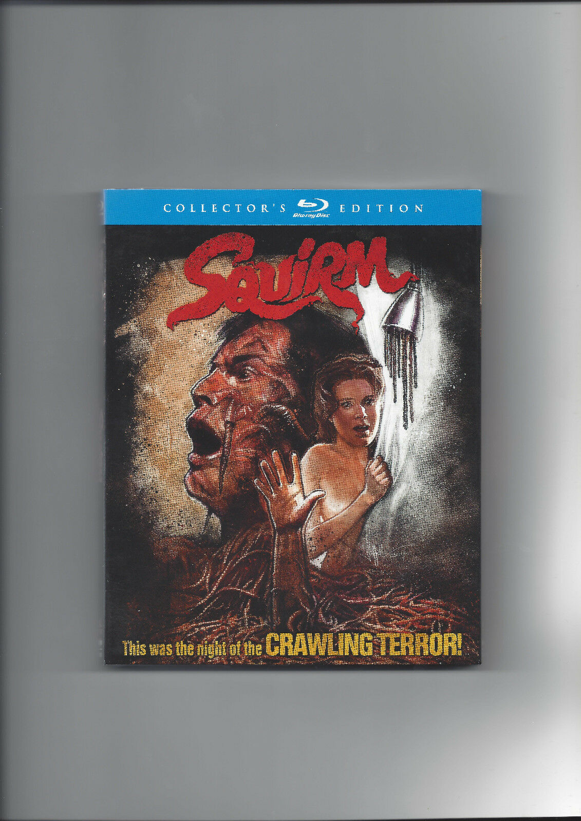 Squirm Blu-ray Uncut Unrated Collector´s Edition Neu Ovp