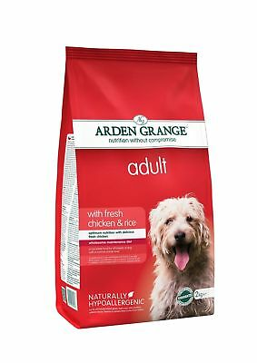 Arden Grange Chicken & Rice Adult Dog Food 2kg