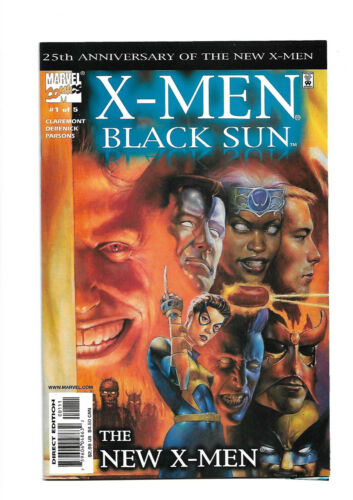 X-MEN: BLACK SUN 2000 #1 2 3 4 5 Complete Set Chris Claremont Marvel Comics