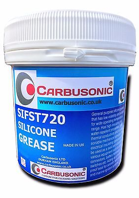 200g  pure silicone grease, O ring lubrication, dielectric paste, rubber, latex