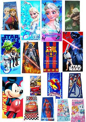 Disney Strandtuch Badetuch Kinder Handtuch Badehandtuch Minions Frozen - Minions Disney
