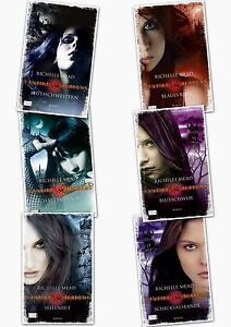 Richelle Mead, Vampire Academy, Band 1,2,3,4,5,6  (Bücherserie)