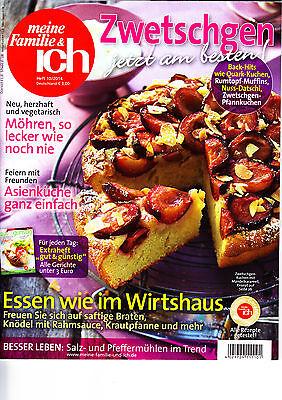 meine Familie & ich, Zwetschgen jetzt am besten, Heft 10/2014 - Am Besten 10