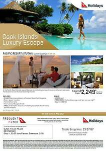 PACIFIC ISLANDS LUXURY ESCAPES Greenacre Bankstown Area Preview