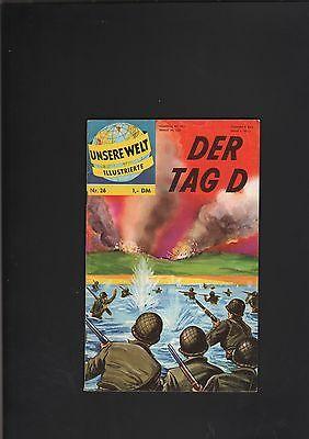 Unsere Welt Illustrierte 1962 BSV Nr. 26 sehr guter Zustand (1-2) Tag D
