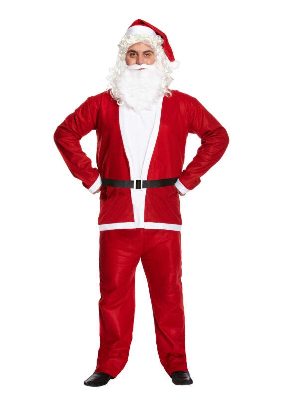Santa+Clause+Suit+Christmas+Fancy+Dress+Up+Costume