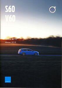 Volvo S60 V60 Polestar 03 / 2016 catalogue brochure - <span itemprop='availableAtOrFrom'> Varsovie, Polska</span> - Volvo S60 V60 Polestar 03 / 2016 catalogue brochure -  Varsovie, Polska