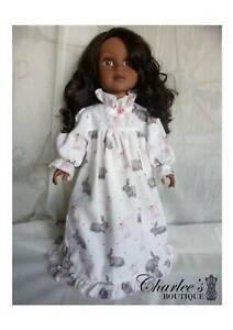 45cm Journey girl doll rabbit print pyjamas ( MADE IN PERTH)