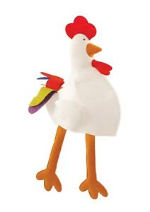 CHICKEN HAT LONG ADULT FANCY DRESS NOVELTY FUNNY JOKE PARTY XMAS STAG HEN NIGHT