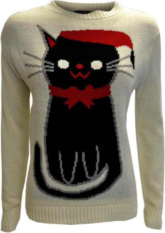 Knitted cat jumper ebay - Cat jumper knitting pattern ...