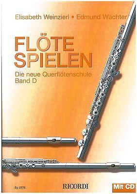 Weinzierl/Wächter - Flöte spielen Band D  inkl. CD - Schule für Querflöte