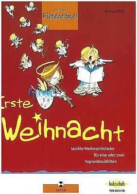 Ertl - Erste Weihnacht - Jede Menge Flötentöne - Blockflöte inkl. CD