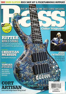 BASS Guitar Magazine UK 79 June 2012 John Entwistle Christian McBride Kat Marsh Christian Bass Guitar