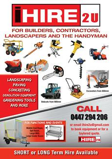 i Hire 2 U - Builders - Landscapers - Handyman East Kurrajong Hawkesbury Area Preview