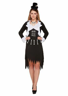 HALLOWEEN MISS VOODOO DOLL adult Costume Ladies Witch Doctor Zombie  Fancy Dress](Scary Alice In Wonderland Halloween Costume)