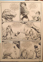 (prl) Brad Barron N°4 Giovanni Bruzzo Tavola Originale Original Comic Art Dessin -  - ebay.it