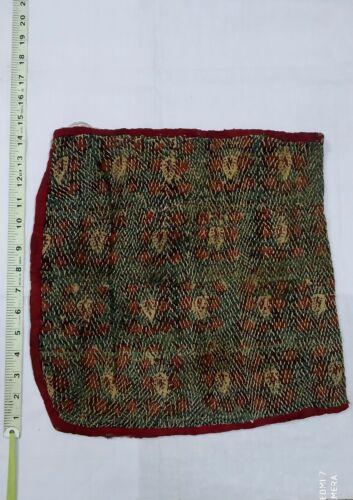 Indian ethnic vintage banjara embroidery nomadic gypsy boho style hippie bag no5