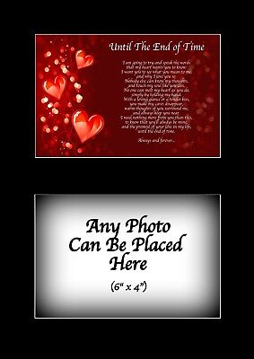 My Best Friend Poem Personalised with ANY PHOTO Birthday Christmas Gift ()