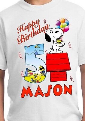 Snoopy Party Supplies, Snoopy Birthday, Snoopy Shirt, Charlie Brown, The Peanuts - Snoopy Party