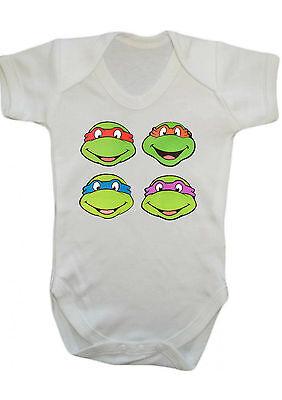 Teenager Mutant Ninja Turtles Tmnt Body Weste Strampler Geschenk Babykleider