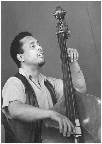 """Reproduction """"Charles Mingus"""" Poster, Jazz, Wall Art, Vintage Print, Size A2"""