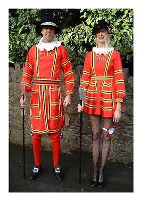 Fancy Dress Sale (Beefeater Lady Ex Hire Sale Fancy Dress Outfit Costume)