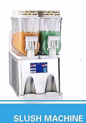 Pasmo Touch Screen T314 - 2tank Frozen Drink Slush Making Machine Smoothie Maker